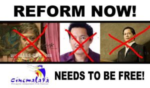 Cinemalaya - Reform Now poster